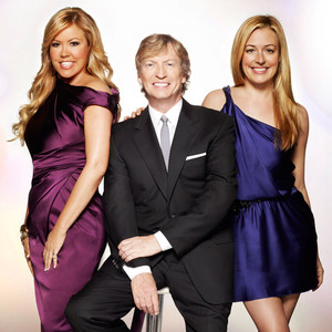 Mary Murphy, Nigel Lythgoe and Cat Deeley Image via Mathieu Young/FOX