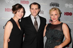 Kelly Mcdonald with AR Rothstein and Patricia Arquette!   Image from https://www.facebook.com/media/set/?set=a.637157596315323.1073741830.125938460770575&type=1