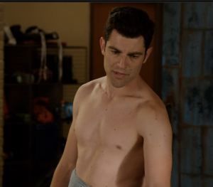 Okay, here's topless Schmidt.  You know you wanted it.
