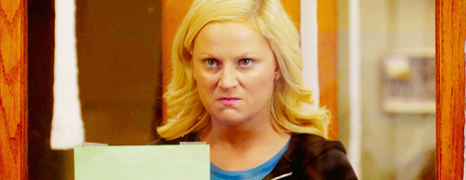 I love Leslie Knope (and all of her emotions)