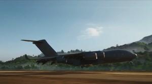 Nifty Black Plane--from Comicsalliance.com