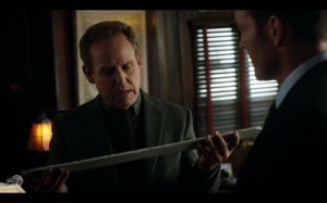Peter MacNicol has always squicked me out, even on Ally McBeal.